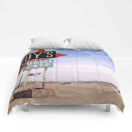 Route 66 Comforters
