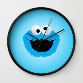 Cookie Monster Wall Clock