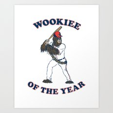 Wookiee Of The Year Art Print