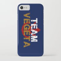 vegeta iPhone & iPod Cases featuring Team Vegeta by AJF89