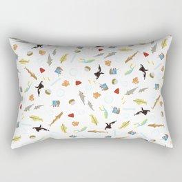 The Life Aquatic with Steve Zissou: Repeat Pattern Rectangular Pillow