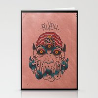 cthulhu Stationery Cards featuring Cthulhu by Zack Traum
