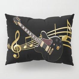 Guitar Music Pillow Sham