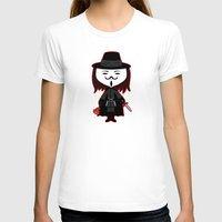 vendetta T-shirts featuring Vendetta by Sombras Blancas Art & Design
