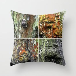 Tableau of Archetypal Structures Throw Pillow