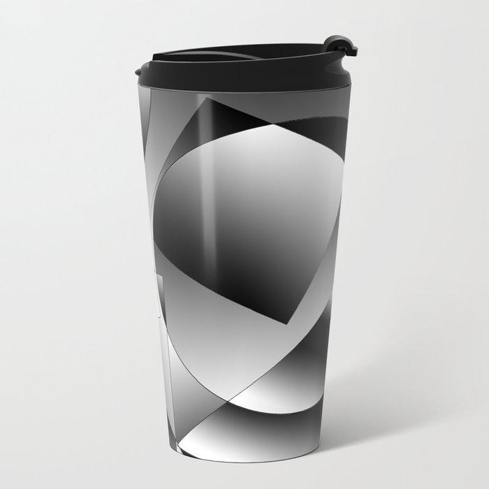 shapes Metal Travel Mug