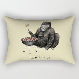 Grilla Rectangular Pillow