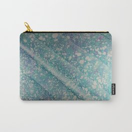 Waves of Time Water Marbling Carry-All Pouch