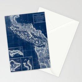 Vintage Blueprint of PNW Stationery Cards