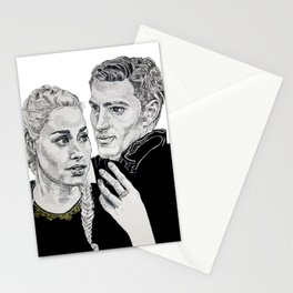 Celaena and Chaol Stationery Cards