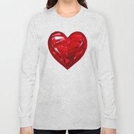 Garnet Heart Long Sleeve T-shirt
