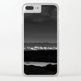 Sin City Nights Clear iPhone Case