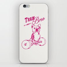 Train Like A Boss iPhone & iPod Skin