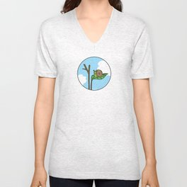 Sweet Snail Unisex V-Neck