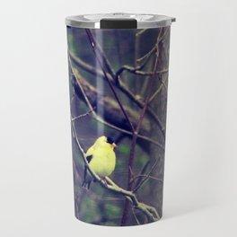 I Spy a Goldfinch Travel Mug
