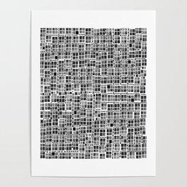 Pixel  Fashion 04 Poster