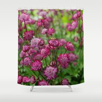 flower of life Shower Curtains featuring Life by Frenchie1108
