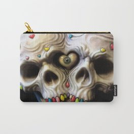 Siamese Skull Love Carry-All Pouch