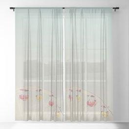 its all a blur ... Sheer Curtain