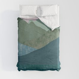 Mountain River #1 Comforters
