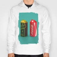 whisky Hoodies featuring Whisky Cola by Maxim Kirienko Art