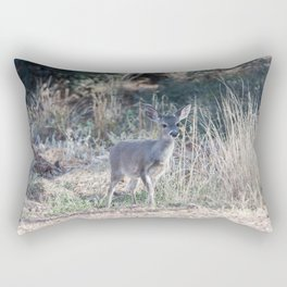 Baby doe out in the open Rectangular Pillow