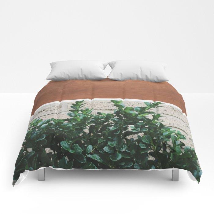Plant + Copper #society6 #buyart #decor Comforters