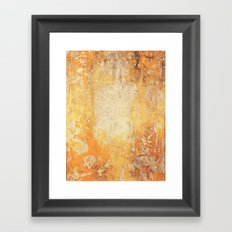 Fire Skull I Part I Framed Art Print