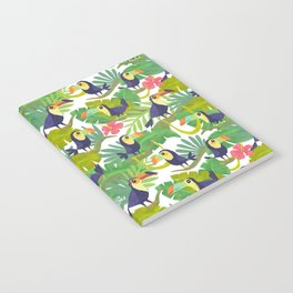 Toucan Paradise Pattern Notebook
