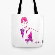 Audrey Stencil Tote Bag