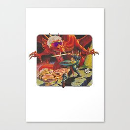 Dungeons & Diners Canvas Print
