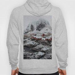 Mountain Village In Norway Hoody