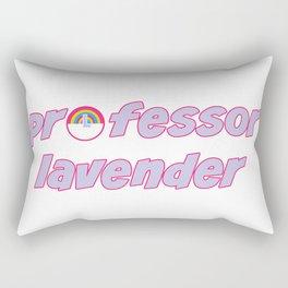 prof lavender Rectangular Pillow
