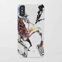 hunter s thompson iPhone & iPod Cases featuring Hunter S Thompson by BINDU by BINDU