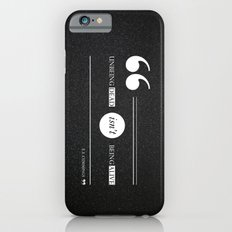 Dead or alive iPhone 6s Slim Case