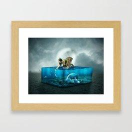 The lost Aquarium Framed Art Print