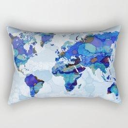 Design 105 world map Rectangular Pillow