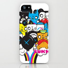 Everyone in the Pool  iPhone Case