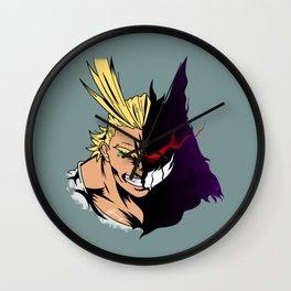 Symbol of Darkness Wall Clock