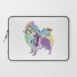 Mighty Puppy Pomeranian Laptop Sleeve