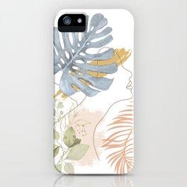 Line in Nature III iPhone Case