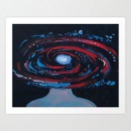 Galaxy Portrait 1 Art Print