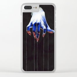 Who Holds the Power Clear iPhone Case