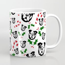 CHRISTMAS WITH YOUR ENGLISH BULLDOG AND CHRISTMAS GIFT WRAPPED FROM MONOFACES IN 2020 Coffee Mug