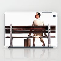 forrest gump iPad Cases featuring Forrest Gump by e_Walnutstreet