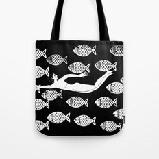The joy of the fishes Tote Bag