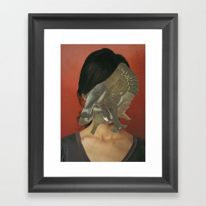 Black Blood of the Earth  Framed Art Print