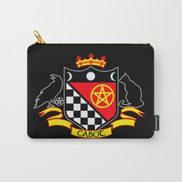 Cabot Tradition Crest (black) Carry-All Pouch