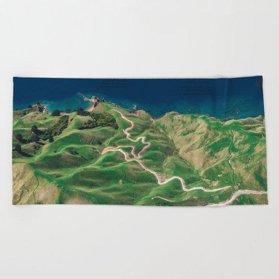 green mountain 4 Beach Towel