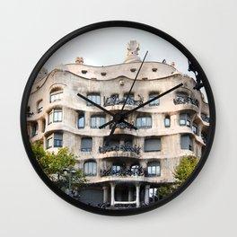 Gaudi Series - Casa Milà No. 1 Wall Clock